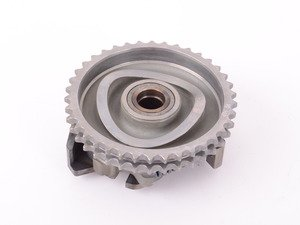 ES#1816977 - 6050700645 - Injection Pump Sprocket - Drives the injection pump and the vacuum pump - Genuine Mercedes Benz - Mercedes Benz