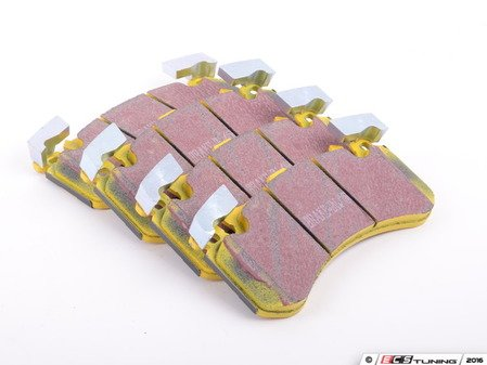 ES#3063742 - DP42158R -  Front YellowStuff Performance Front Brake Pad Set - Race quailty pad that can be used at the track and back home - EBC - Audi