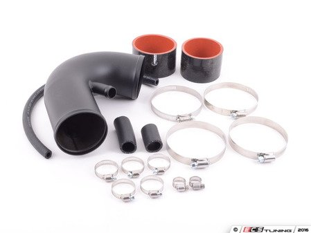 ES#3078608 - 4750266 - Mk3 VR6 Upper Intake Tube - Wrinkle Black - Replace your aging intake pipe with this durable kit. - 42 Draft Designs - Volkswagen