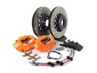 ES#3184076 - 009607ECS01AKT7 - ECS F30 M Performance Front Big Brake Kit - Orange - Upgrade to M Performance calipers and 370x30mm 2-piece front rotors with Genuine BMW pads - ECS - BMW