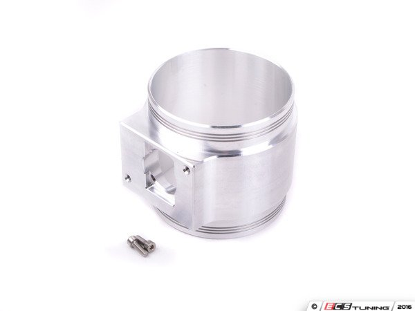 ES#2864568 - 034-108-6007 - Billet MAF Housing - Hitachi Style (late) 85mm ID - Perfect for use in upgraded turbo cars with larger injectors and appropriate software - 034Motorsport - Audi
