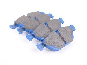 ES#2622259 - DP51035NDX - Front BlueStuff Performance Brake Pads - Race inspired performance, NDX formula provides a great initial bite - EBC - Audi Volkswagen Mercedes Benz