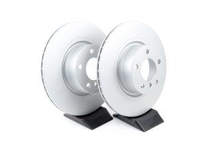 ES#2771584 - 34206790362KT1 - Rear Brake Rotors - Pair - Featuring a protective Meyle Platinum coating - Meyle - BMW