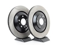 ES#3136928 - 126.33109SLkt - Rear Slotted Brake Rotors - Pair (335x22mm) - Upgrade your stopping power - StopTech - Audi