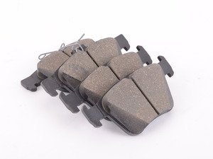 ES#3151622 - 5Q0698451P - Rear Brake Pad Set - Restore the stopping power in your vehicle - Genuine Volkswagen Audi - Audi Volkswagen