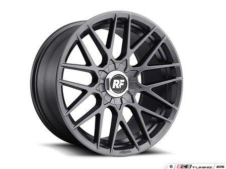 "ES#3188088 - R14119850745SQKT - 19"" RSE - Set Of Four  - 19""x8.5"" ET45 5x112/5x114.3 - Matte Gunmetal - Rotiform - Audi Volkswagen"
