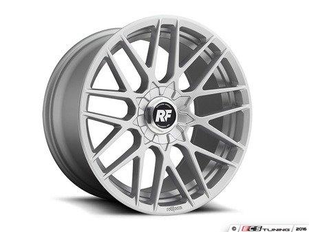 """ES#3187930 - R14017802535SQKT - 17"""" RSE - Set Of Four  - 17""""x8"""" ET35 5x112/5x120 - Gloss Silver - Rotiform - BMW Volkswagen"""