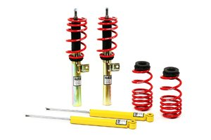 "ES#4944 - 29509-2 - Street Performance Coilover Kit - Unrivaled comfort and performance. Average lowering of 1.2""-2.3""F 1.0""-2.0""R - H&R - Audi"
