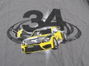 ES#2502180 - DRG013165LG - Das Auto Tee - LG - This shirt is a 2n1 shirt - DriverGear - Volkswagen