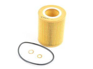 ES#2879437 - 11427512300 - Oil Filter Kit - Includes filter, O-ring, and copper washer. - Vaico - BMW