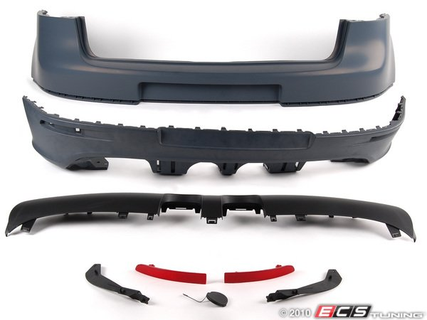ES#1884170 - 1K0898025 - European R32 Rear Bumper Conversion - Convert your MkV to the European R32 bumper - Genuine European Volkswagen Audi - Volkswagen
