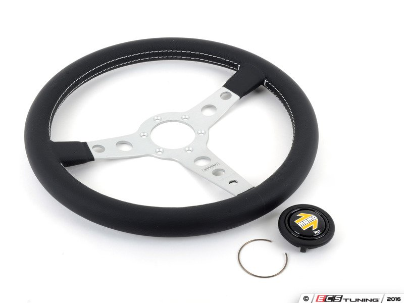 momo pr035bk0s momo prototipo steering wheel silver. Black Bedroom Furniture Sets. Home Design Ideas