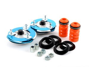 ES#3149883 - 193616-3L - Stage 3 Camber Plates - Track - Easily adjust front camber for the first time, with additional toe adjustment - installs in place of stock strut mounts. Intended for high performance competition use. - KMAC - BMW