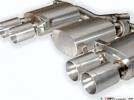 ES#3010424 - AA-EXHF80-REAR - Performance rear exhaust section - Give your M the true exhaust sound it deserves - Active Autowerke - BMW