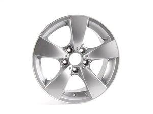 "ES#65027 - 36116776776 - 17"" Star Spoke Style 138 Wheel - Priced Each - 17x7.5 ET 20 72.6 CB - Genuine BMW - BMW"