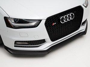 ES#3046047 - 013875ECS01A -  Carbon Fiber Front Lip Spoiler  - Hand-laid carbon fiber to upgrade your exterior styling - ECS - Audi