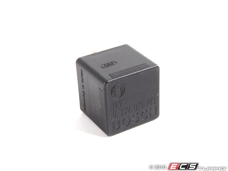 Bosch 0332014134 Air Conditioning Relay Aux Fan Relay - 4 Prong Relay Part Number