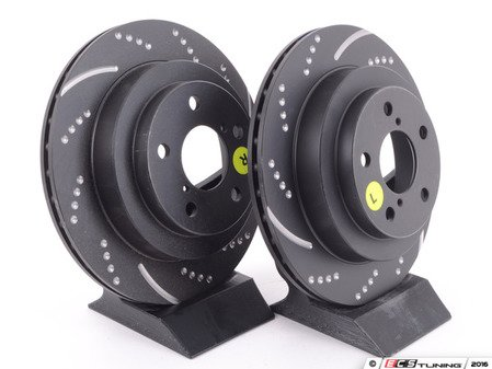 ES#522070 - GD730 - EBC Sport Rotor Kit (two pieces) - Subaru - Rear - EBC -