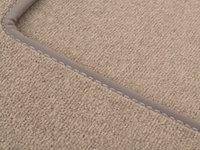 ES#1820791 - 66290105 - Carpeted Floor Mat Set - Dark Java, without logo - Genuine Mercedes Benz - Mercedes Benz