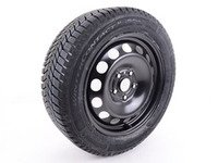 ES#3178099 - w1655205c00KT1 - Winter Wheel & Tire - Set Of Four - Includes Continental Winter Contact SI 205/55R16 94H tires, mounted and balanced - Genuine Volkswagen Audi - Volkswagen