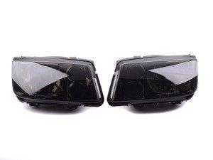 ES#3021437 - LHJET99GRS - OE Style Headlight Set - Smoked - US spec OE style headlights with smoked lenses - Spec-D Tuning - Volkswagen