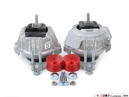 ES#2597606 - 22116760330RKT - Performance Motor And Transmission Mount Kit - Race - Featuring UUC race transmission mounts - Assembled By ECS - BMW