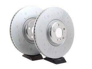ES#2786510 - 34116789069KT - Front Brake Rotors - Pair (395x36)  - A pair of genuine replacement rotors - Genuine BMW - BMW