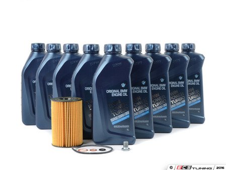 ES#2796072 - 11427640862KT4 - Genuine BMW Oil Change Kit / Inspection I - Everything you'll need to do a basic oil change including Genuine BMW synthetic oil and a German-made Mahle oil filter - Assembled By ECS - BMW