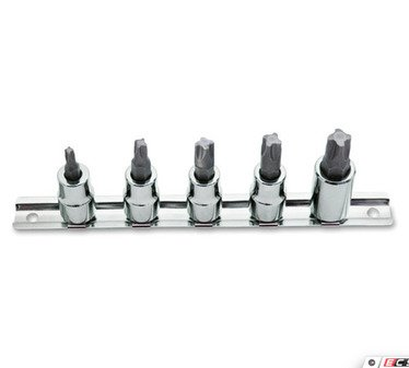 ES#3191335 - ATD13790 - 5 Pc. Mortorq Bit Socket Set - Used to service Mortorq fasteners. - ATD Tools - Audi BMW Volkswagen Mercedes Benz MINI Porsche