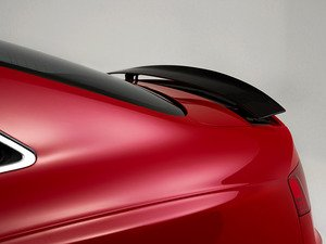 ES#3194697 - 008767ecs01KT -  Carbon Fiber Trunk Spoiler - Add a touch of style and real carbon fiber to your Audi - ECS - Audi