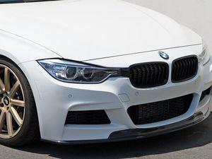 ES#3187813 - 022795ecs01a - Carbon Fiber front lip - Add aggressive styling to your BMW with the class of carbon fiber - ECS - BMW