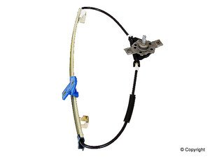 ES#5161 - 193839401 - Window Regulator - Driver (Left) - For manually operated windows only - Jopex - Volkswagen