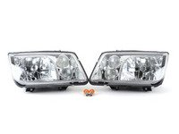 ES#3021440 - LHJET99RS - European Headlight Set - Chrome - With fog lights, with clear turn signals - Spec-D Tuning - Volkswagen