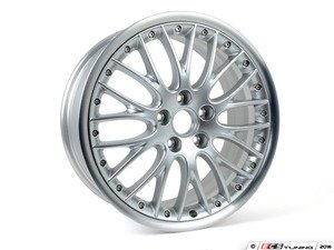 "ES#3108663 - 8P0601025DT - 18"" Split 10-Spoke Wheel - Priced Each - 18""x7.5"" ET54 5x112 Silver - Genuine Volkswagen Audi - Audi"