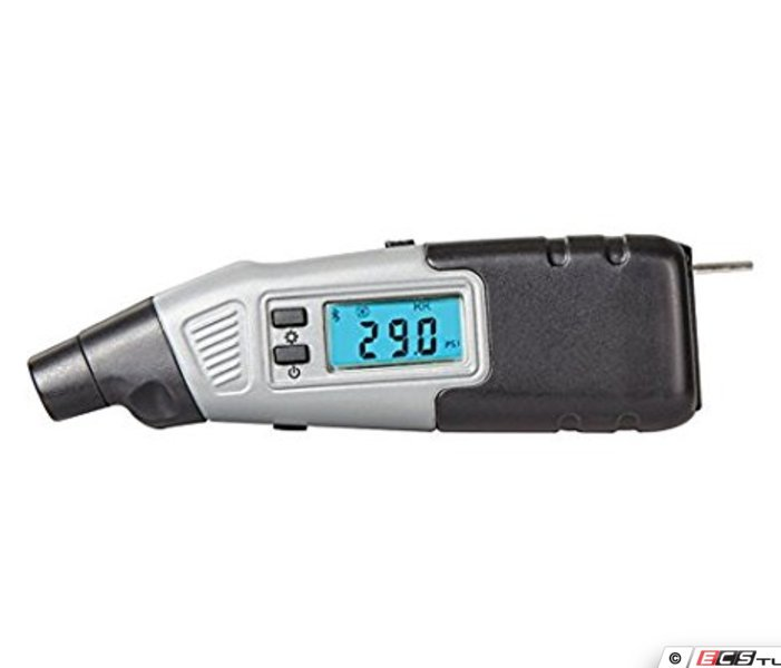 Bmw Electronic Tire Pressure Gauge : Steelman jsp bluetooth digital tire gauge