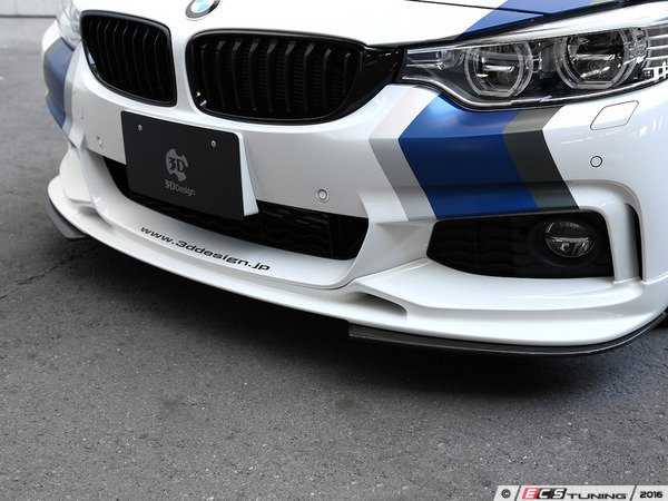 ES#3175889 - 3102-23211 - Carbon Fiber Front Splitter - Individualize your BMW's looks with this carbon fiber splitter - 3D Design - BMW