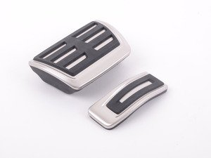 ES#2723315 - 8K1064205A - Pedal Set - Stainless Steel - Includes the Stainless throttle and brake pedals - Audi Zubehor - Audi