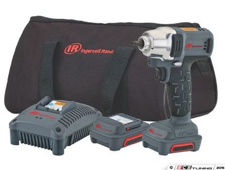 """ES#2934514 - IRCW1130K2 - 3/8"""" 12V Cordless Impact Kit - This cordless 3/8"""" impact is great for working away from air hose and wall plugs. - Ingersoll Rand - Audi BMW Volkswagen Mercedes Benz MINI Porsche"""
