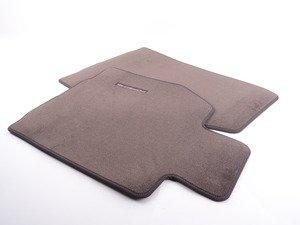 ES#1473809 - 98755198408R43 - Set Of Floor Mats - Cocoa  - Beautiful OEM Cocoa floor mats - Genuine Porsche - Porsche