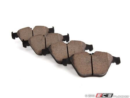 ES#1928257 - EUR918 - Front Euro Ceramic Brake Pad Set - Offers excellent pedal feedback, low dust, and smooth initial bite. A favorite among BMW enthusiasts. - Akebono - BMW