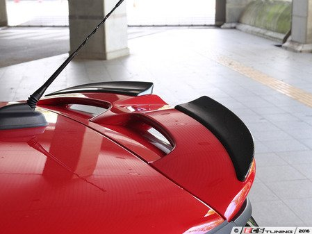 ES#3175979 - 3110-25611 - Roof Spoiler Extensions JCW - Carbon Fiber - Individualize your MINI's looks with this roof spoiler extensions - 3D Design - MINI