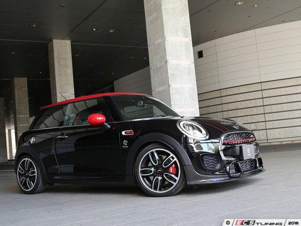 ES#3175874 - 3101-25611 - Front Lip Spoiler JCW - Carbon Fiber - Individualize your MINI's looks with this front spoiler ; JCW Bumper - 3D Design - MINI