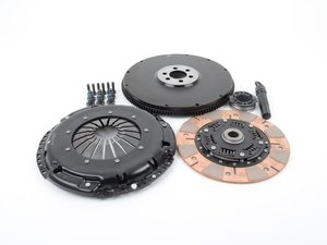 ES#3021841 - BFI18228ST3 - BFI Stage 3 Clutch Kit - Lightweight 228mm Single Mass Flywheel (11.85lbs.) - Rated for 350 - 400 ft lbs of torque at the wheels. - Black Forest Industries - Audi Volkswagen