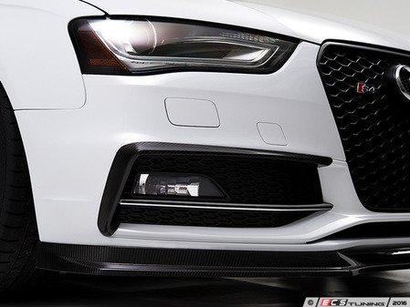 ES#3569526 - 018360ecs01KT - Carbon Fiber Grille Accent Set - Hand-laid carbon fiber to upgrade your exterior styling - ECS - Audi
