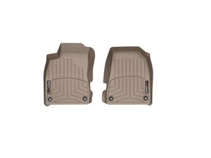Grey W67GR WeatherTech Trim to Fit Front Rubber Mats for Select Audi Models