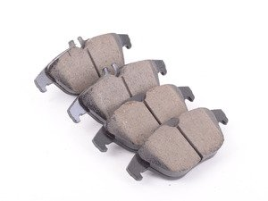 ES#3184250 - 0074206220 - Rear Brake Pad Set - Includes new brake pad wear sensors - Akebono - Mercedes Benz