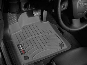 ES#2837950 - 462181 - Front FloorLiner DigitalFit - Grey - Laser measured for perfect fitment and ultimate protection against moisture and debris - WeatherTech - Audi