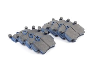 ES#2804553 - 7797-D916KT1 - Front & Rear Cool Carbon S/T Performance Brake Pad Set  - All-in-one brake pads that deliver pure undiluted performance - Cool Carbon Performance - Porsche