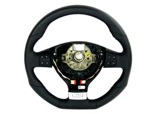 ES#11817 - 1K0419091BARZR - European GTI Steering Wheel - Direct fit wheel with multi function buttons from the European GTI - Genuine European Volkswagen Audi - Volkswagen