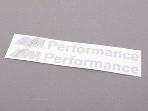 ES#2664922 - 51142296551 - ///M Performance Decal Kit - Decal for BMW Performance side skirts - Genuine BMW M Performance - BMW